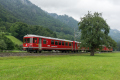 Abschiedsfahrt der ersten Bündner S-Bahn (StN-Pendel, Be 4/4-Pendel) des Verein Dampffreunde der RhB