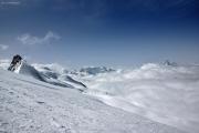 Saas Fee - Allalinhorn - Britanniahütte SAC - Fluchthorn - Saas Fee :: Castor, Pollux, Breithorn, Matterhorn