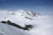Saas Fee - Allalinhorn - Britanniahütte SAC - Fluchthorn - Saas Fee :: Mischabel mit Dom