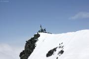 Saas Fee - Allalinhorn - Britanniahütte SAC - Fluchthorn - Saas Fee :: Allalinhorngipfel