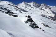 Saas Fee - Allalinhorn - Britanniahütte SAC - Fluchthorn - Saas Fee :: Felskinn, Mischabel mit Dom