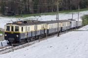Chemin de fer-musée Blonay-Chamby BC - DZe 6/6 2002 mit As 101 und 102 (MOB)