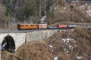 Chemin de fer-musée Blonay-Chamby BC - Steinviadukt über die Baye de Clarens