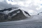 Grosser Aletschgletscher, Konkoridahütten SAC; Dreieckhorn, Lötschenlücke