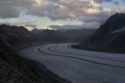 Grosser Aletschgletscher, Konkoridahütten SAC; Eggishorn