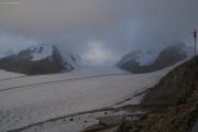 Grosser Aletschgletscher, Konkoridahütten SAC; Richtung Jungfraujoch