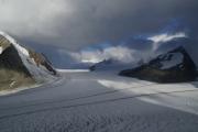 Grosser Aletschgletscher, Konkoridahütten SAC; Lötschenlücke