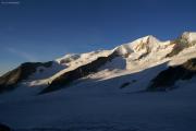 Finsteraarhornhütte SAC; Fieschergletscher, Wannenhorn