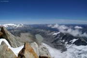 Oberaarhorn (3629müM); Dammastock, Galenstock, Oberaarsee, Furkapass, Oberaargletscher