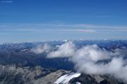 Oberaarhorn (3629müM);  Piz Bernina