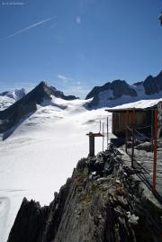 Oberaarjochhütte SAC (3256müM); Plumpsklo