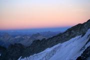 "Oberaarjochhütte SAC (3256müM); ""Blaue Stunde"""