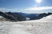 Oberaargletscher; Oberaarsee