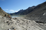 Oberaarsee beim Gletschertor des Oberaargletschers