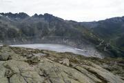 Grütlisee; Rhonegletscher mit Belvédère, Furkapass, Klein Furkahorn