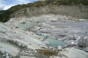 Rhonegletscher; Eisrand mit See