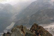 Aufstieg zum Piz Glüschaint: Gipfelgrat