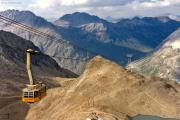 Diavolezza (2973 m): Berggasthaus LBD
