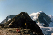 Diavolezza (2973 m): Piz Trovat, Piz Cambrena
