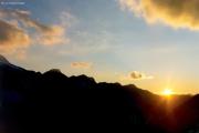 Diavolezza: Sonnenuntergang
