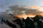 Diavolezza: Sonnenuntergang, Piz Bernina