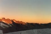 Diavolezza: Sonnenaufgang