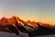 Diavolezza: Sonnenaufgang, Piz Morteratsch