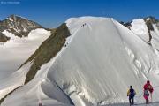 Piz Palü (Ostgipfel, 3882 m): Piz Zupò, Piz Palü (3901 m), Piz Bernina