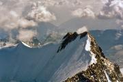 Piz Bernina (4049 m): Piz Spella, Spellagrat zum Berninagipfel