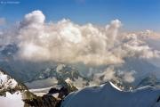 Piz Bernina (4049 m): Spellagrat zum Berninagipfel