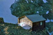 Rif. Marco e Rosa CAI (It.,3597 m): Alte Hütte: man soll in dieser Sardinenbüchse sogar schlafen können - ich konnte es nicht!!