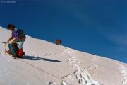 Abstieg über den Fortezzagrat: auf den Terrassen unter der Bellavista