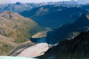 Abstieg über den Fortezzagrat: Morteratschgletscher