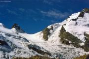 Abstieg über den Fortezzagrat: Crast' Agüzza, Piz Bernina