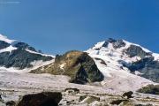 Abstieg über den Fortezzagrat: Persgletscher, Piz Bernina