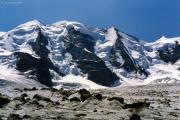 Abstieg über den Fortezzagrat: Piz Palü, Persgletscher