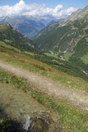 """Simplonpass - Bistinepass - Gibidumpass - Visperterminen :: entlang der Suone """"Heido"""""""