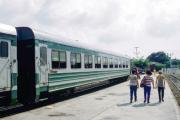 Bahnhof von Havanna (Zug nach Santiago)