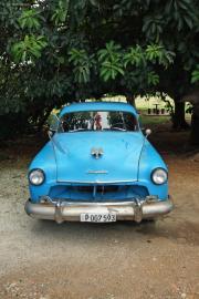 Old Chrysler, zw. Matanzas und La Habana