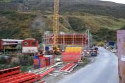 Erweiterung Depot Realp.Neue Werkstätte wächst in die Höhe, 2009
