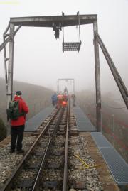 Montage der Steffenbachbrücke 2010