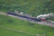 Zug mit HG 3/4 Nr. 4 in Tiefenbach