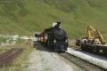 Zug 155 mit HG 3/4 Nr.4 nach Oberwald erreicht Muttbach