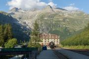 HG 3/4 9 in Gletsch