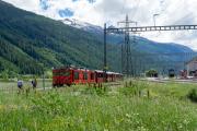 HGm 4/4 61 in Oberwald