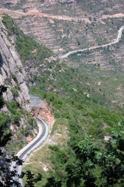 Cremallera de Montserrat