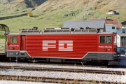 Ge 4/4 82 in Realp. 1983