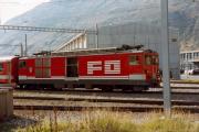 Deh 4/4 II 94 in Andermatt. 1983