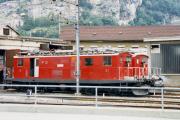 HGe 4/4 I 31 und 37 in Brig. 1987