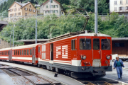 Deh 4/4 II 94 in Göschenen. 1987
